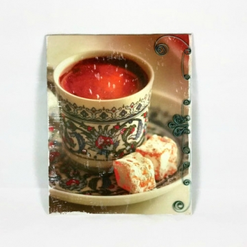 Coffee Decor Kitchen Paper Quilling Art
