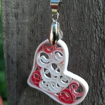Filigree Heart Necklace, Signature Sweetheart Pendant